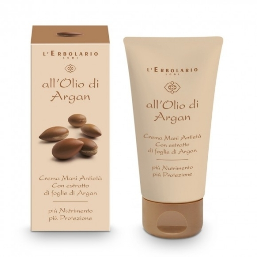 Crema anti età all'olio di Argan